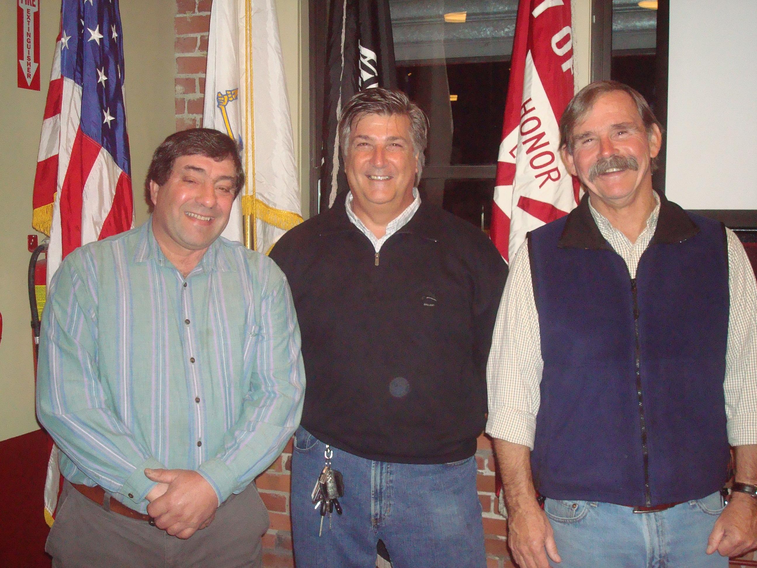 2009 Retirees F. Celidonio, R. Manning, T. Simpson.JPG